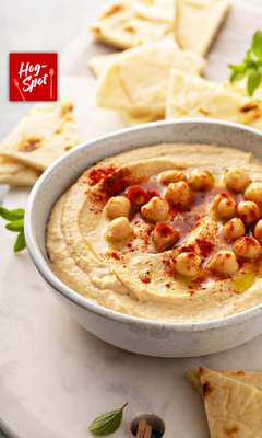 Satiate your hunger for hummus!