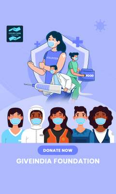 Donate to GiveIndia Foundation, Help Fight COVID-19